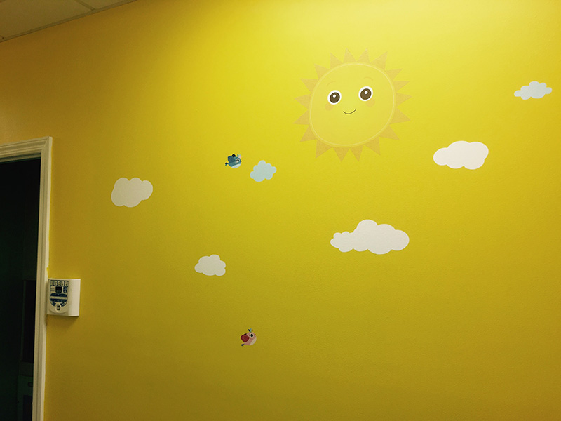 Wall for Pediatric dentist Dr. Sue Hwang in Jackson Heights, NY
